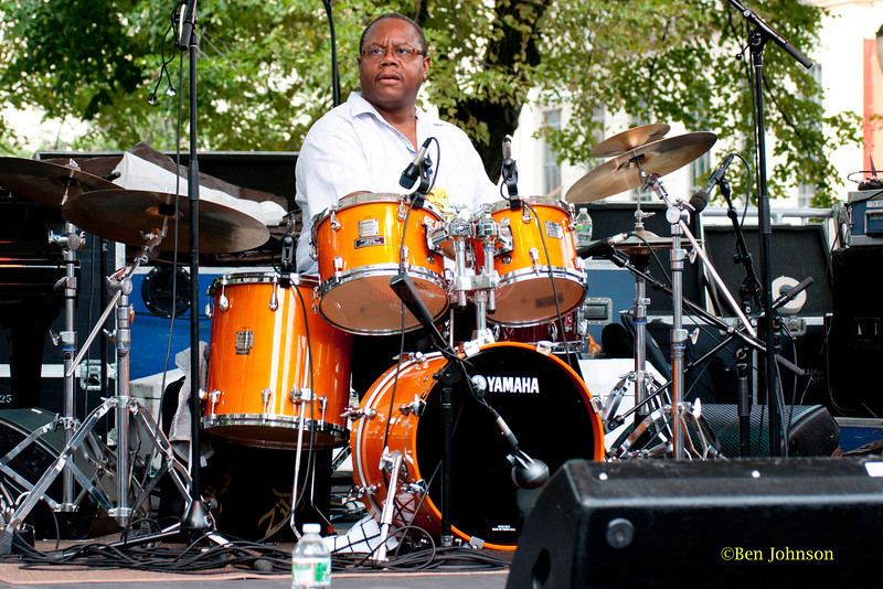 Harry 'Butch' Reed  - performing at The 2011 Dupont Clifford Brown Jazz Festival held in Rodney Square in Downtown Wilmington, Delaware.<br /> .