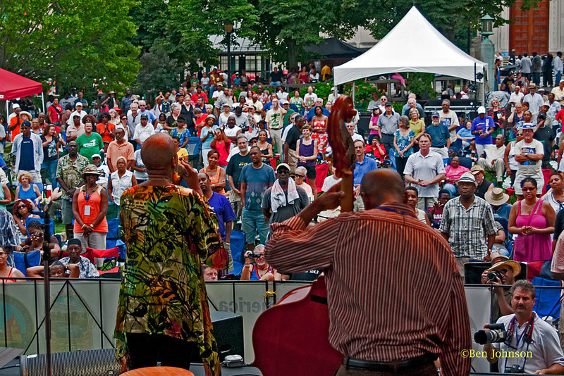Rene Marie - performing her version of The Negro National Anthem at The 2011 Dupont Clifford Brown Jazz Festival held in Rodney Square in Downtown Wilmington, Delaware.