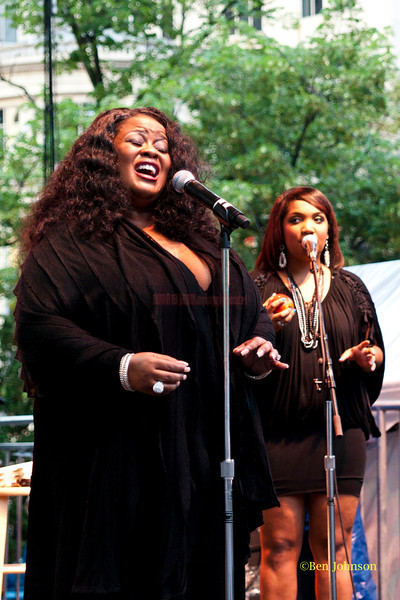 Maysa - performing at The 2011 Dupont Clifford Brown Jazz Festival held in Rodney Square in Downtown Wilmington, Delaware.