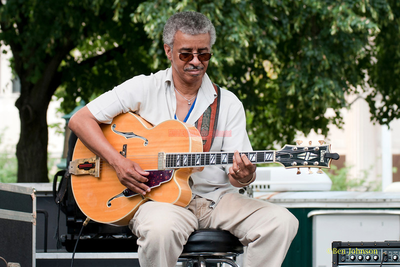 Gerald 'Twig' Smith - performing at The 2011 Dupont Clifford Brown Jazz Festival held in Rodney Square in Downtown Wilmington, Delaware.