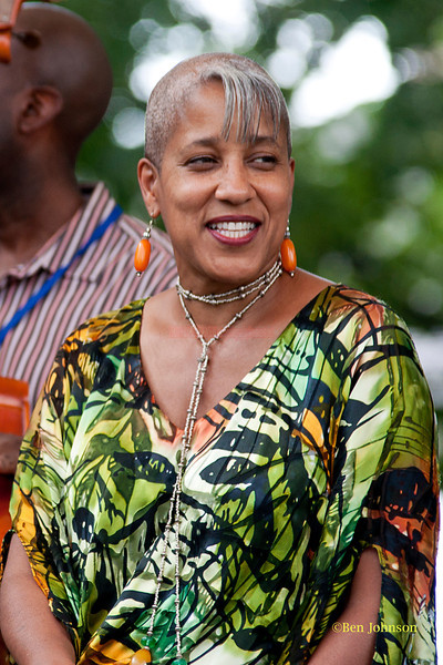 Rene Marie - performing at The 2011 Dupont Clifford Brown Jazz Festival held in Rodney Square in Downtown Wilmington, Delaware.
