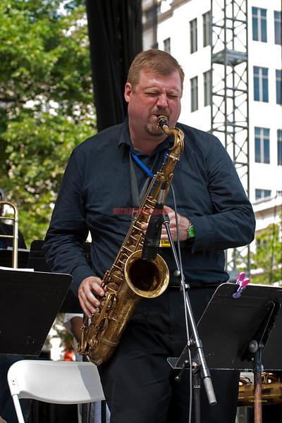 - performing with The Captain Black Big Band at The 2011 Dupont Clifford Brown Jazz Festival held in Rodney Square in Downtown Wilmington, DelawareSquare in Downtown Wilmington, Delaware.