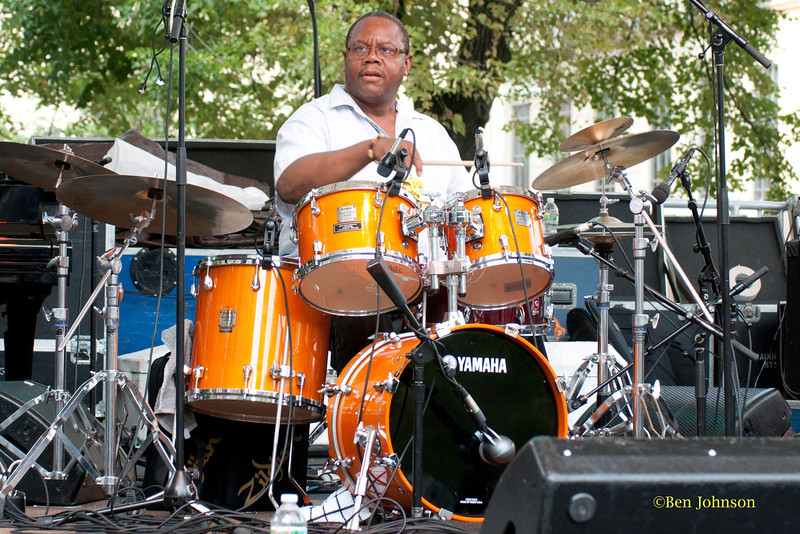Harry 'Butch' Reed  - performing at The 2011 Dupont Clifford Brown Jazz Festival held in Rodney Square in Downtown Wilmington, Delaware.
