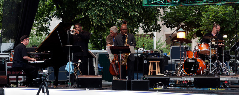 Rufus Reid Outfront Quintet - performing at The 2011 Dupont Clifford Brown Jazz Festival held in Rodney Square in Downtown Wilmington, Delaware.