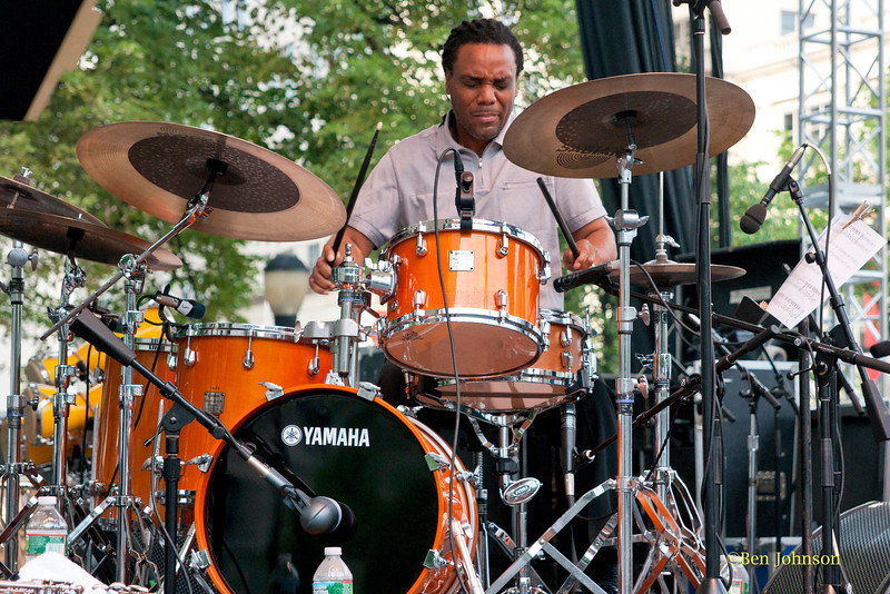 Yoron Israel - performing at The 2011 Dupont Clifford Brown Jazz Festival held in Rodney Square in Downtown Wilmington, Delaware