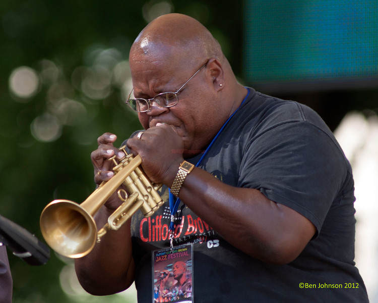 Tony Smith performing as part of the  2012 Clifford Brown Jazz Festival in Rodney Square in Wilmington Delaware, June 18-23, 2012.