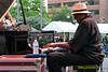 Randy Weston performing as part of the 2012 Clifford Brown Jazz Festival in Rodney Square in Wilmington Delaware, June 18-23, 2012.