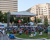 The  2012 Clifford Brown Jazz Festival in Rodney Square in Wilmington Delaware, June 18-23, 2012.