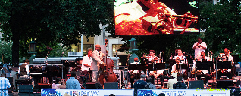 Steve Wilson with Strings performing as part of the  2012 Clifford Brown Jazz Festival in Rodney Square in Wilmington Delaware, June 18-23, 2012