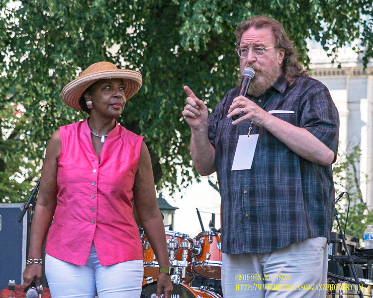 Tina Betz And John Rago - Wilmington Delaware Presents The 2019 Clifford Brown Jazz Festival In Rodney Square June 19-22, 2019