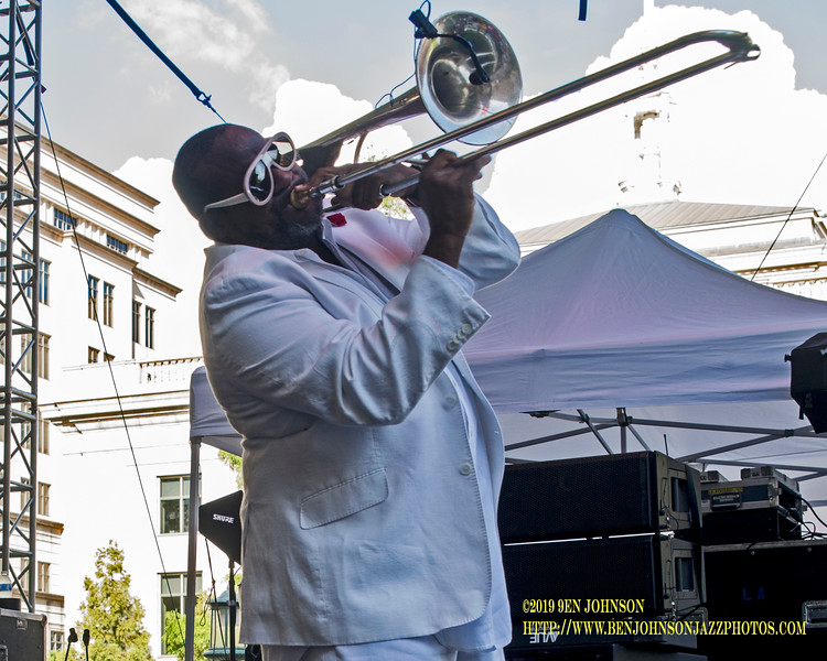 Jeff Bradshaw's Band -  Wilmington Delaware Presents The 2019 Clifford Brown Jazz Festival In Rodney Square June 19-22, 2019