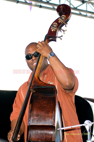 Christian McBride  Photo - The 29th Annual Detroit International Jazz Festival, Detroit Michigan, August 29-31, 2008