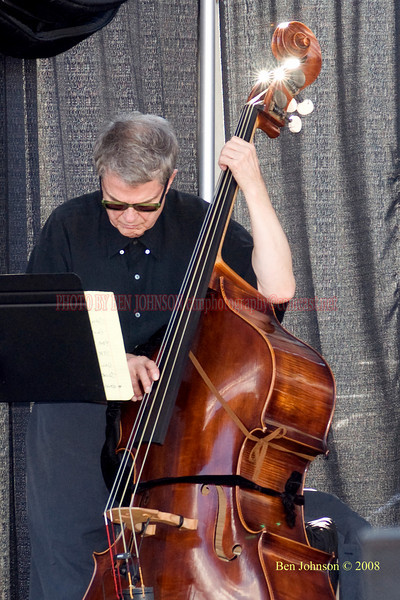 Charlie Haden  Photo - The 29th Annual Detroit International Jazz Festival, Detroit Michigan, August 29-31, 2008