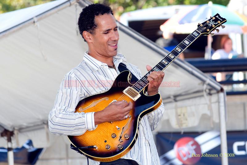 David Gilmore -The 29th Annual Detroit International Jazz Festival, Detroit Michigan, August 29-31, 2008