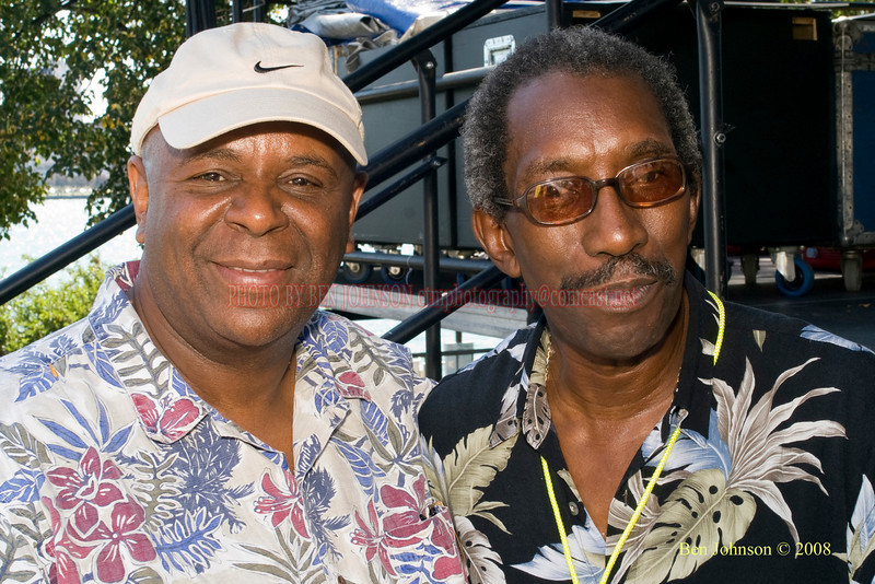 Clayton Rollns & Kenny Rice  Photo - The 29th Annual Detroit International Jazz Festival, Detroit Michigan, August 29-31, 2008