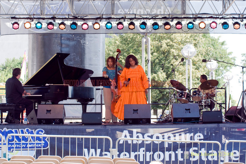 Naima Shamburger Quintet  Photo - The 29th Annual Detroit International Jazz Festival, Detroit Michigan, August 29-31, 2008