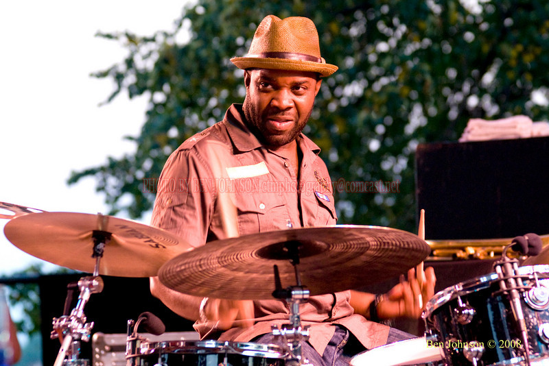Montez Coleman  Photo - The 29th Annual Detroit International Jazz Festival, Detroit Michigan, August 29-31, 2008