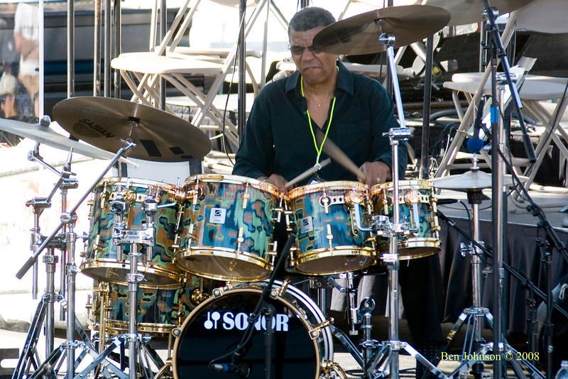 Jack DeJohnette  Photo - The 29th Annual Detroit International Jazz Festival, Detroit Michigan, August 29-31, 2008