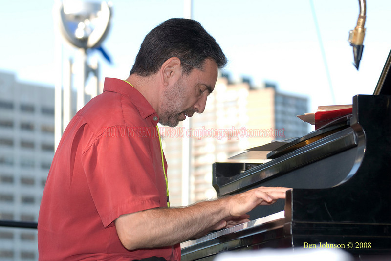 Mike LeDonne  Photo - The 29th Annual Detroit International Jazz Festival, Detroit Michigan, August 29-31, 2008