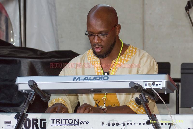 Orrisn Evans  Photo - The 29th Annual Detroit International Jazz Festival, Detroit Michigan, August 29-31, 2008