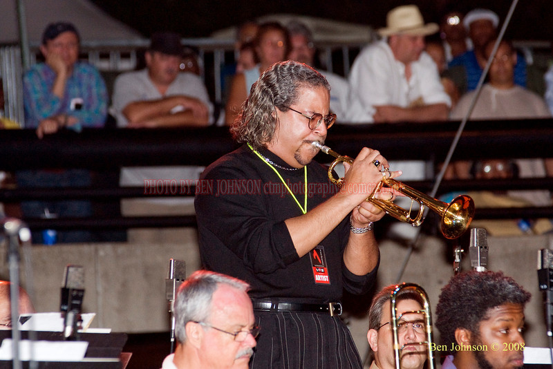Winston Byrd  Photo - The 29th Annual Detroit International Jazz Festival, Detroit Michigan, August 29-31, 2008