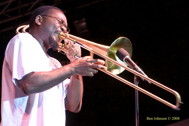 Vincent Chandler  Photo - The 29th Annual Detroit International Jazz Festival, Detroit Michigan, August 29-31, 2008