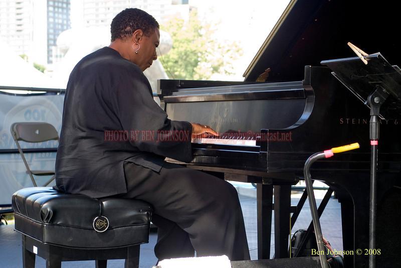 Geri Allen  Photo - The 29th Annual Detroit International Jazz Festival, Detroit Michigan, August 29-31, 2008