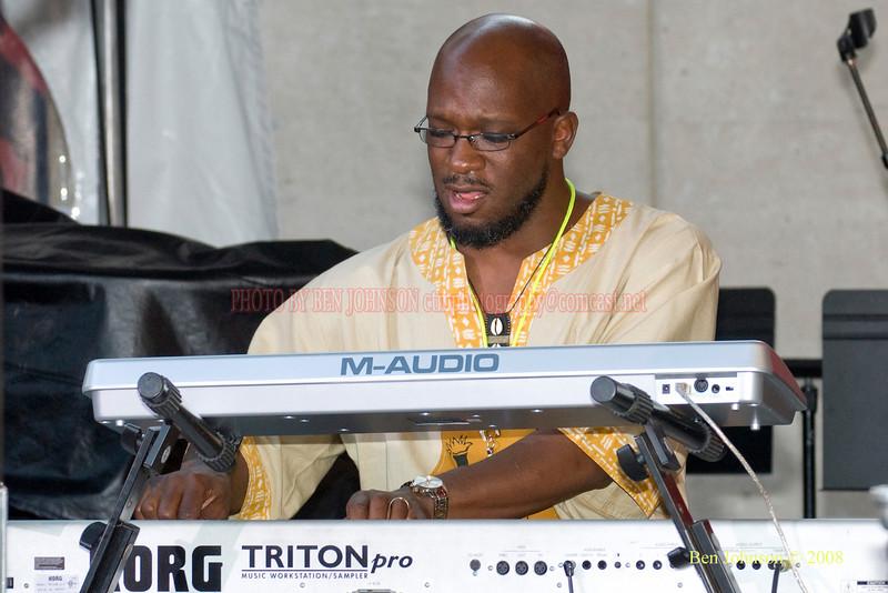 Orrin Evans  Photo - The 29th Annual Detroit International Jazz Festival, Detroit Michigan, August 29-31, 2008