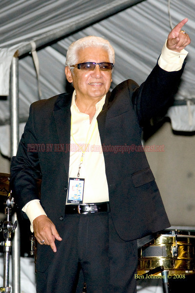 Pete Escovedo  Photo - The 29th Annual Detroit International Jazz Festival, Detroit Michigan, August 29-31, 2008