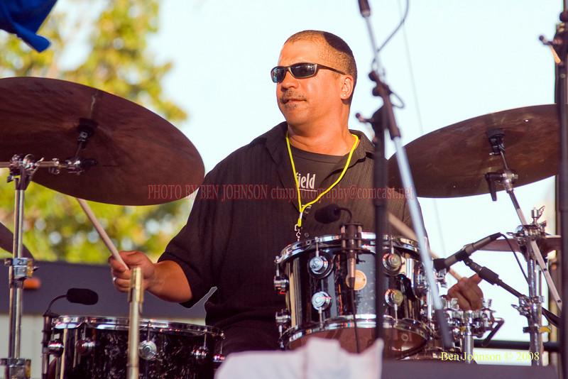 Steve Johns  Photo - The 29th Annual Detroit International Jazz Festival, Detroit Michigan, August 29-31, 2008