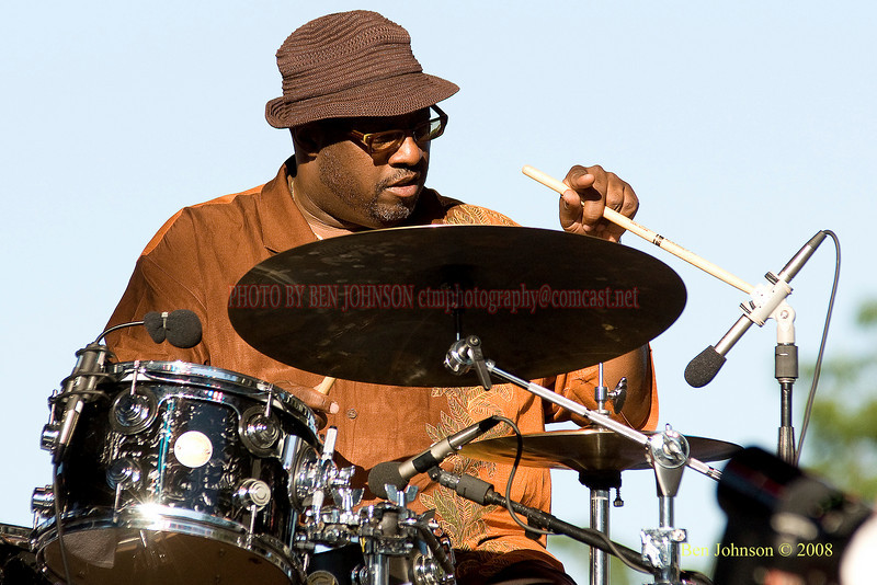 Carl Allen  Photo - The 29th Annual Detroit International Jazz Festival, Detroit Michigan, August 29-31, 2008