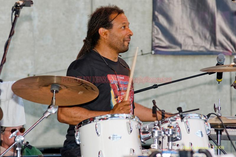 Kenwood Dennard  Photo - The 29th Annual Detroit International Jazz Festival, Detroit Michigan, August 29-31, 2008