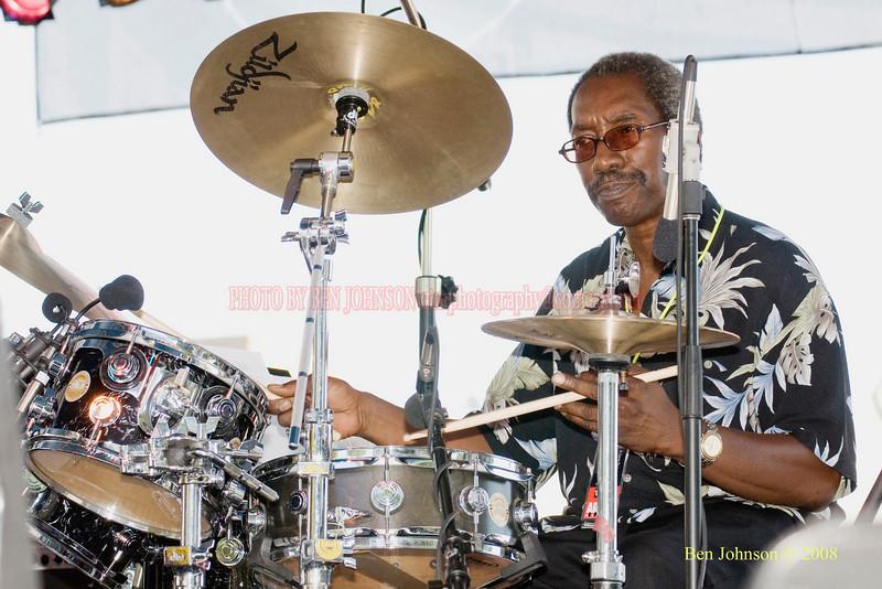 Kenny 'Spiderman' Rice  Photo - The 29th Annual Detroit International Jazz Festival, Detroit Michigan, August 29-31, 2008
