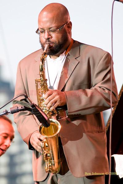 Justin Robinson  Photo - The 29th Annual Detroit International Jazz Festival, Detroit Michigan, August 29-31, 2008