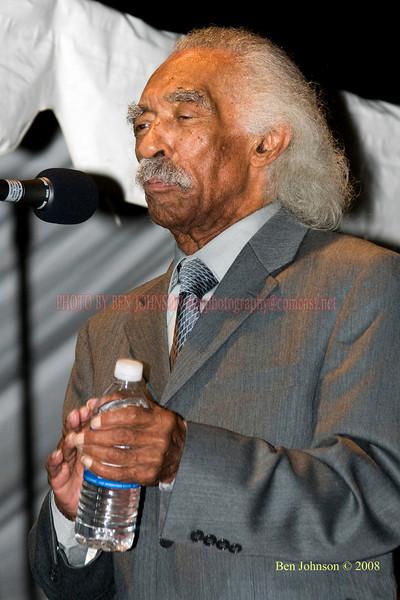 Gerald Wilson  Photo - The 29th Annual Detroit International Jazz Festival, Detroit Michigan, August 29-31, 2008