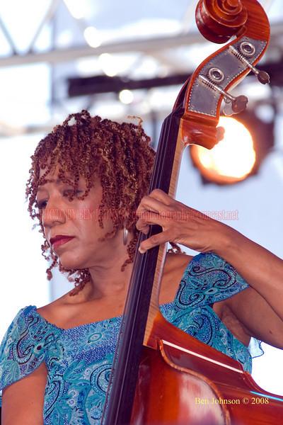 Marion Hayden  Photo - The 29th Annual Detroit International Jazz Festival, Detroit Michigan, August 29-31, 2008