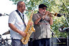 Bootsie Barnes & Randy Brecker  Photo - The 29th Annual Detroit International Jazz Festival, Detroit Michigan, August 29-31, 2008