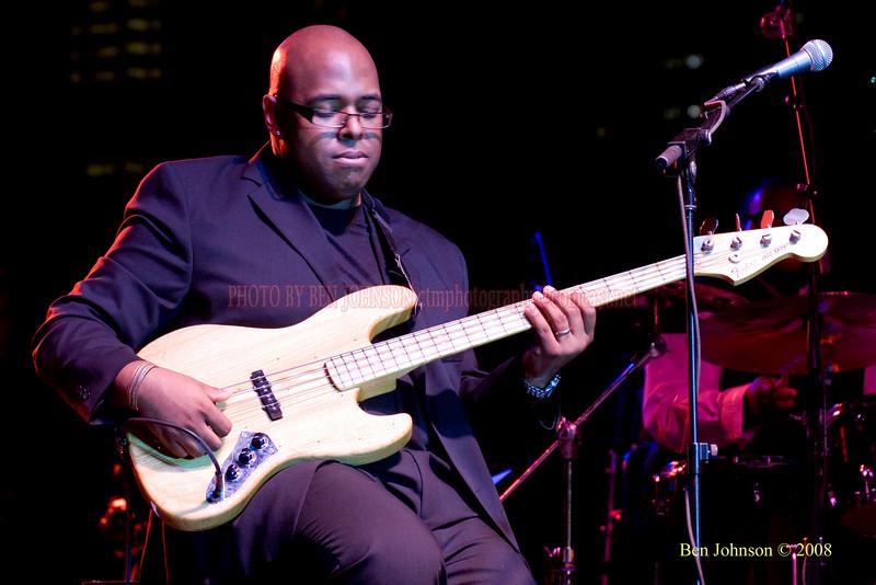 Christian McBride  Photo - The 29th Annual Detroit International Jazz Festival, Detroit Michigan, August 29-31, 2008