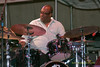 2009 Detroit Jazz Festival Photos - Carl Allen performing with Christian McBride & Inside Straight at The 30th Annual Detroit Jazz Festival held September 4-7, 2009 at Hart Plaza in downtown Detroit, Michigan