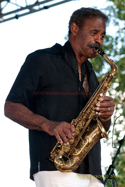 2009 Detroit Jazz Festival Photos - Charle McPherson performing with The Charles McPherson Quintet at The 30th Annual Detroit Jazz Festival held September 4-7, 2009 at Hart Plaza in downtown Detroit, Michigan