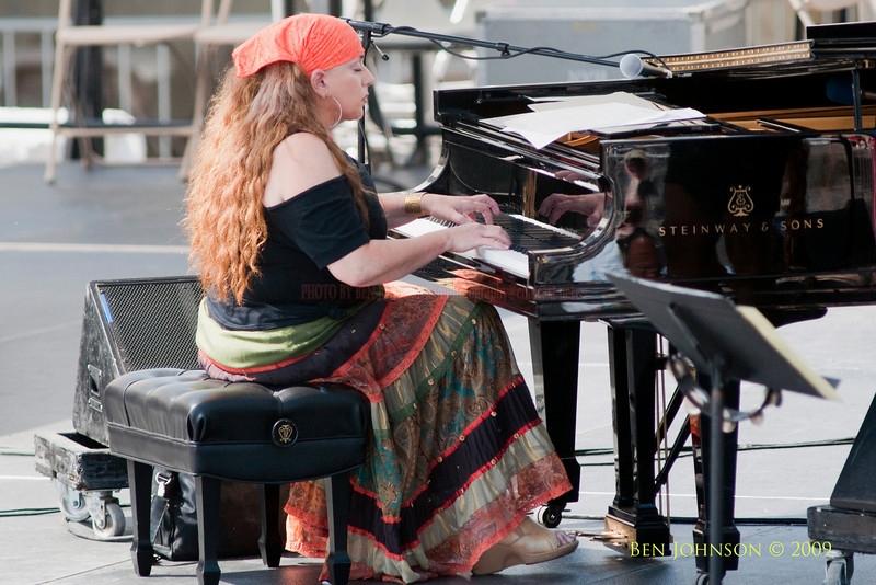 2009 Detroit Jazz Festival Photos - Alina Moore performing with the all Female Jazz  Group 'Straight Ahead at The 30th Annual Detroit Jazz Festival held September 4-7, 2009 at Hart Plaza in downtown Detroit, Michigan