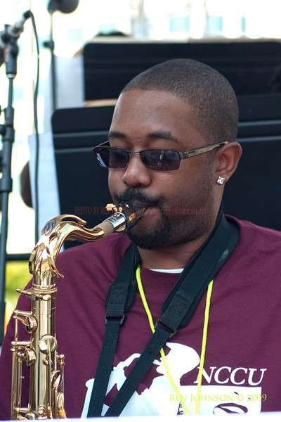 2009 Detroit Jazz Festival Photos - North Carolina Central University Jazz Ensemble performing at The 30th Annual Detroit Jazz Festival held September 4-7, 2009 at Hart Plaza in downtown Detroit, Michigan