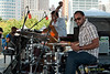 2009 Detroit Jazz Festival Photos - Josh Davis performing with The Sean Jones Quintet at The 30th Annual Detroit Jazz Festival held September 4-7, 2009 at Hart Plaza in downtown Detroit, Michigan