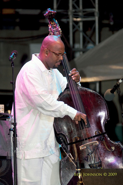 2009 Detroit Jazz Festival Photos - Christian McBride performing with Inside Straight at The 30th Annual Detroit Jazz Festival held September 4-7, 2009 at Hart Plaza in downtown Detroit, Michigan