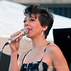 2009 Detroit Jazz Festival Photos - Gretchen Parlato performing with The Gretchen Parlato Trio  at The 30th Annual Detroit Jazz Festival held September 4-7, 2009 at Hart Plaza in downtown Detroit, Michigan