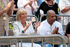 2009 Detroit Jazz Festival Photos - Gretchen Valade and Al Pryor enjoying The 30th Annual Detroit Jazz Festival held September 4-7, 2009 at Hart Plaza in downtown Detroit, Michigan
