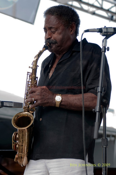 2009 Detroit Jazz Festival Photos - Charles Pherson performing with The Charles McPherson Quintet at The 30th Annual Detroit Jazz Festival held September 4-7, 2009 at Hart Plaza in downtown Detroit, Michigan
