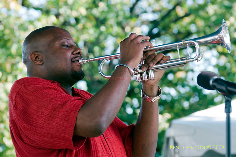 2009 Detroit Jazz Festival Photos - Sean Jones performing with The Sean Jones Quintet at The 30th Annual Detroit Jazz Festival held September 4-7, 2009 at Hart Plaza in downtown Detroit, Michigan