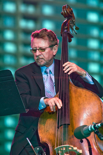 2009 Detroit Jazz Festival Photos - Bassist George Mraz performing with The Hank Jones Trio at The 30th Annual Detroit Jazz Festival held September 4-7, 2009 at Hart Plaza in downtown Detroit, Michigan