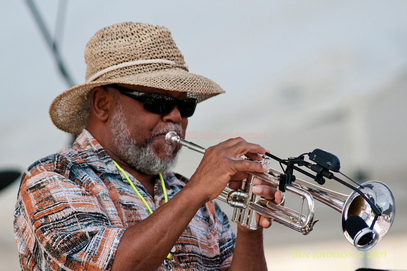 2009 Detroit Jazz Festival Photos - Marcus Belgrave performing with The Marcus Belgrave All Star Quintet at The 30th Annual Detroit Jazz Festival held September 4-7, 2009 at Hart Plaza in downtown Detroit, Michigan